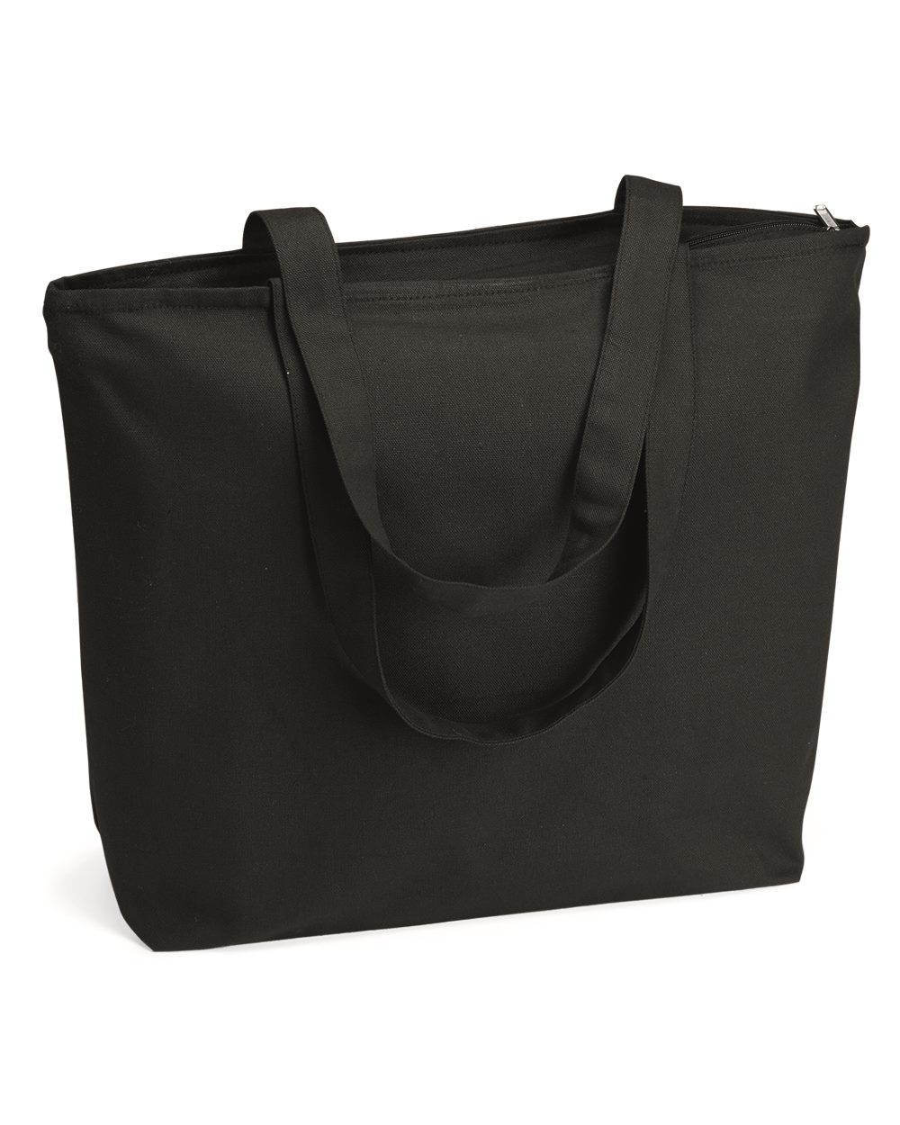 Q-Tees Q611 - 24.5L Canvas Zippered Tote