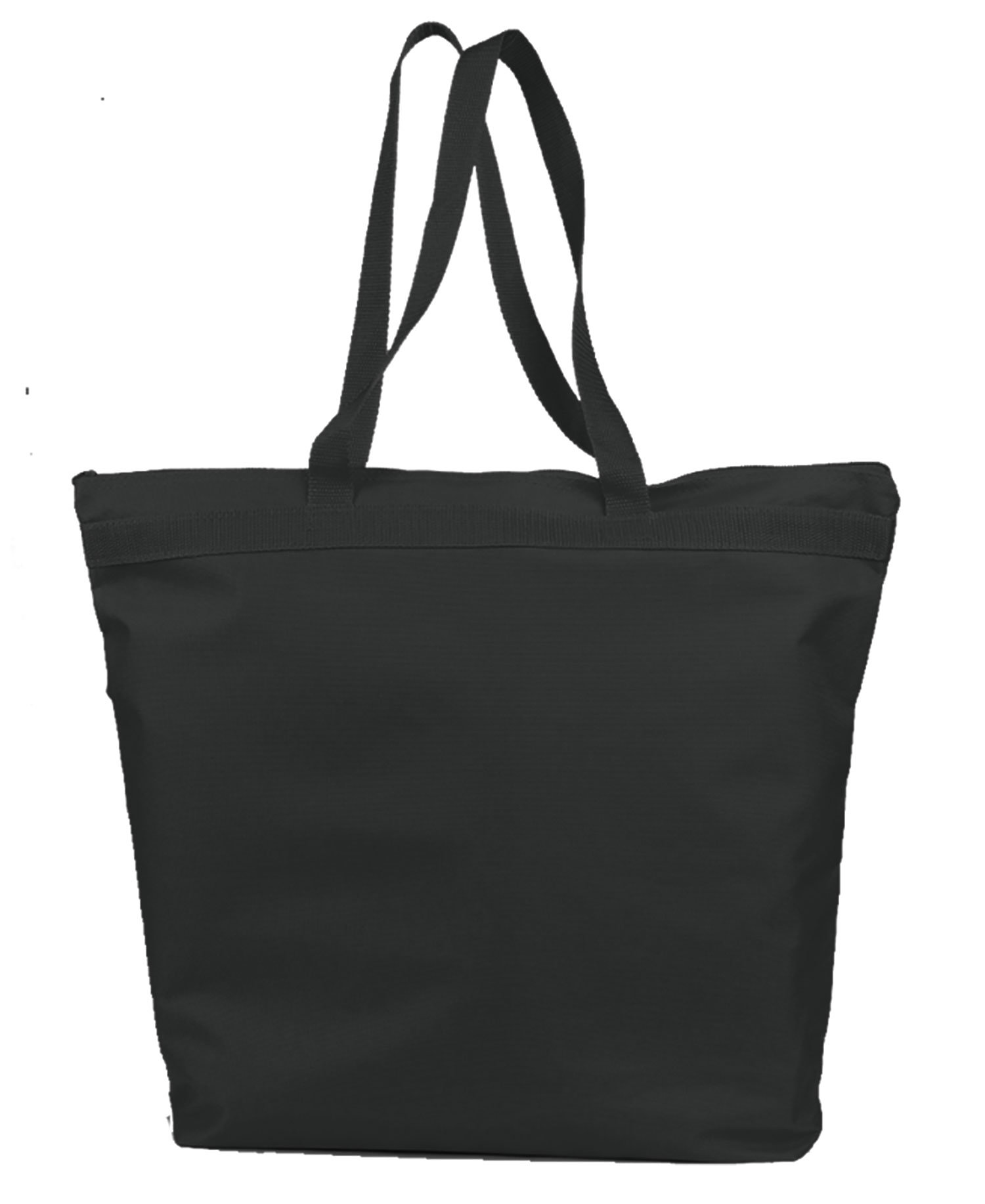 Q-Tees Q91221 - Deluxe Zipper Tote Bag