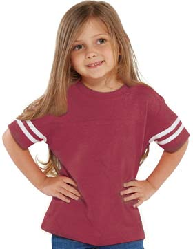 Rabbit Skins 3037 - Toddler Football Tee
