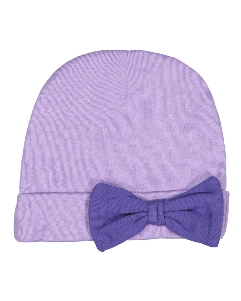 Rabbit Skins 4453 - Infant Baby Rib Bow Cap