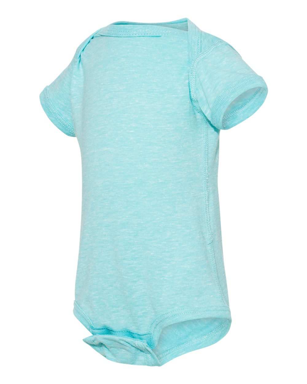 Rabbit Skins 4491 - Infant Harborside Melange Bodysuit