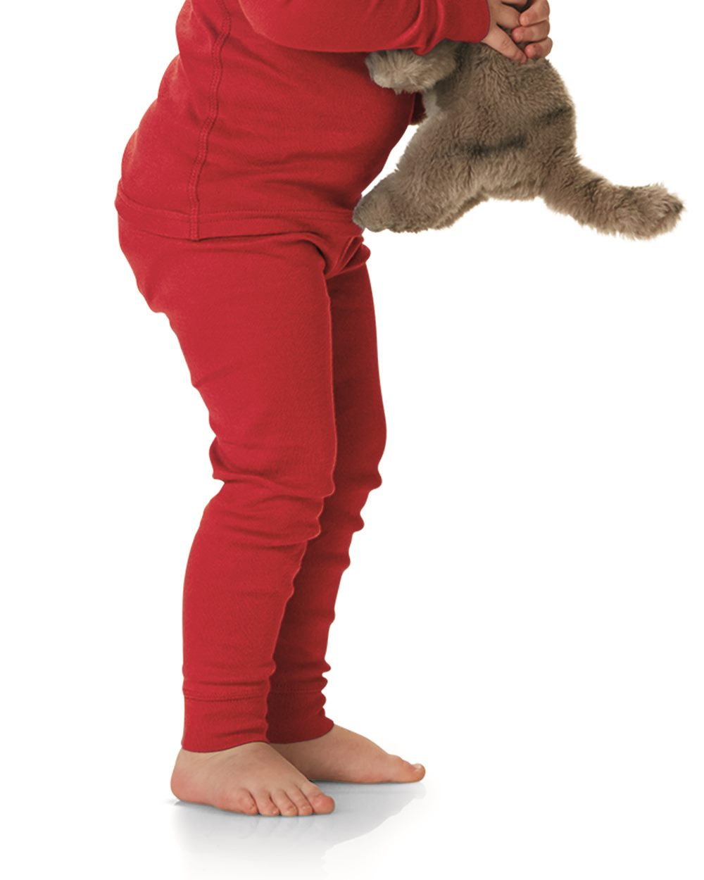 Rabbit Skins 202Z - Baby Rib Toddler Pajama Pants