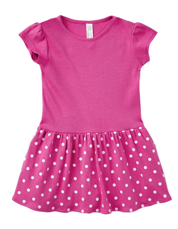 Rabbit Skins 5323 - Toddler Baby Rib Dress