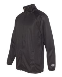 Rawlings 9761 - Full Zip Flatback Mesh Fleece Jacket