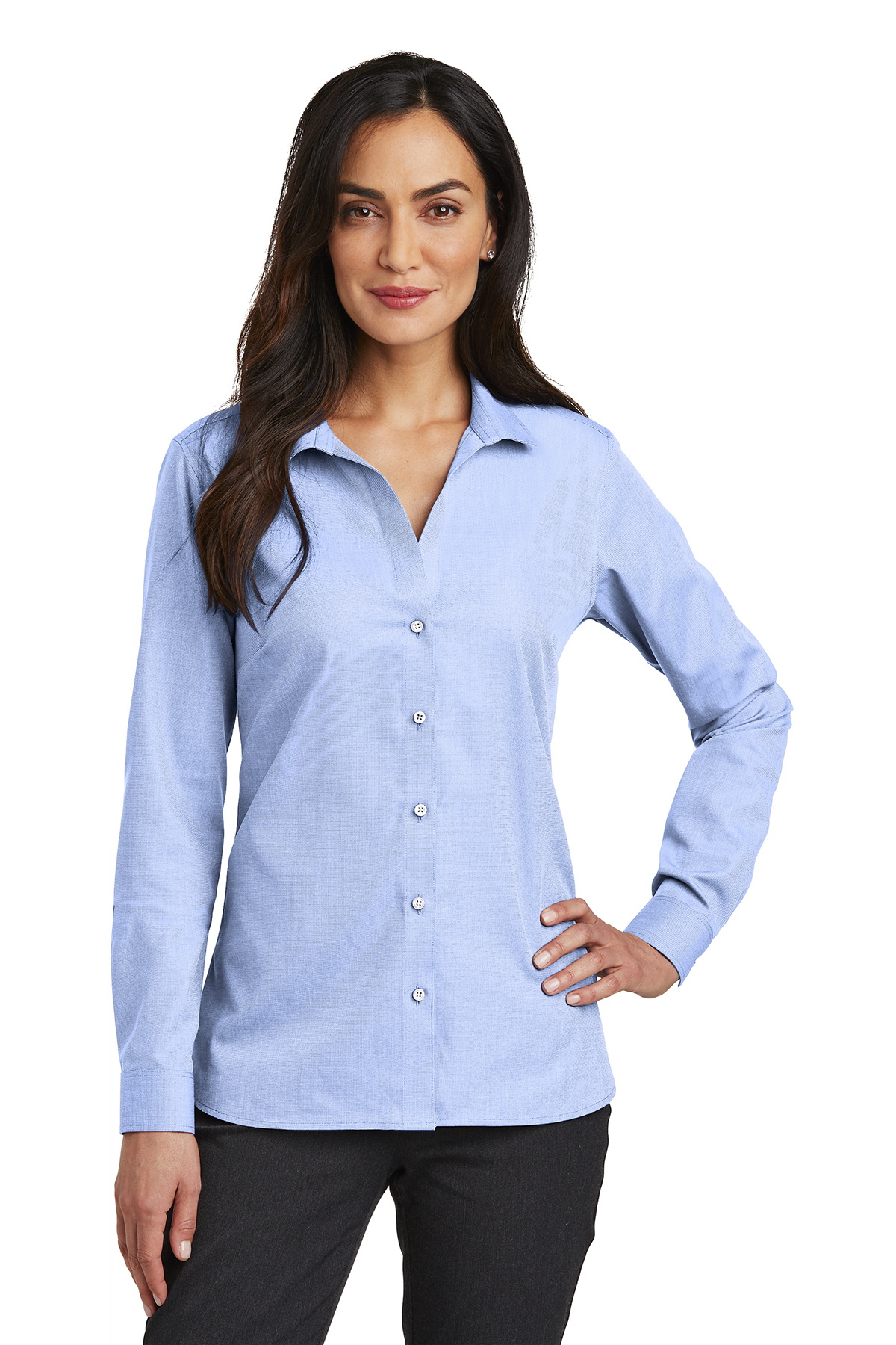 Red House RH470 - Ladies Nailhead Non-Iron Shirt