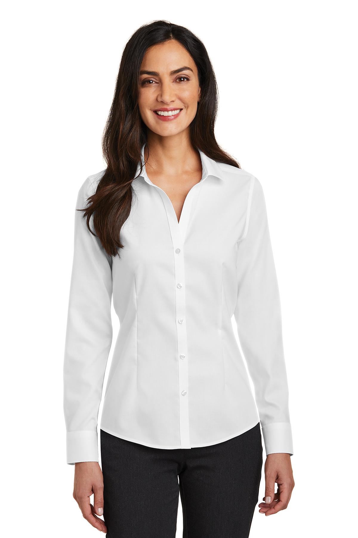 Red House RH250 - Ladiess Pinpoint Oxford Non-Iron Shirt