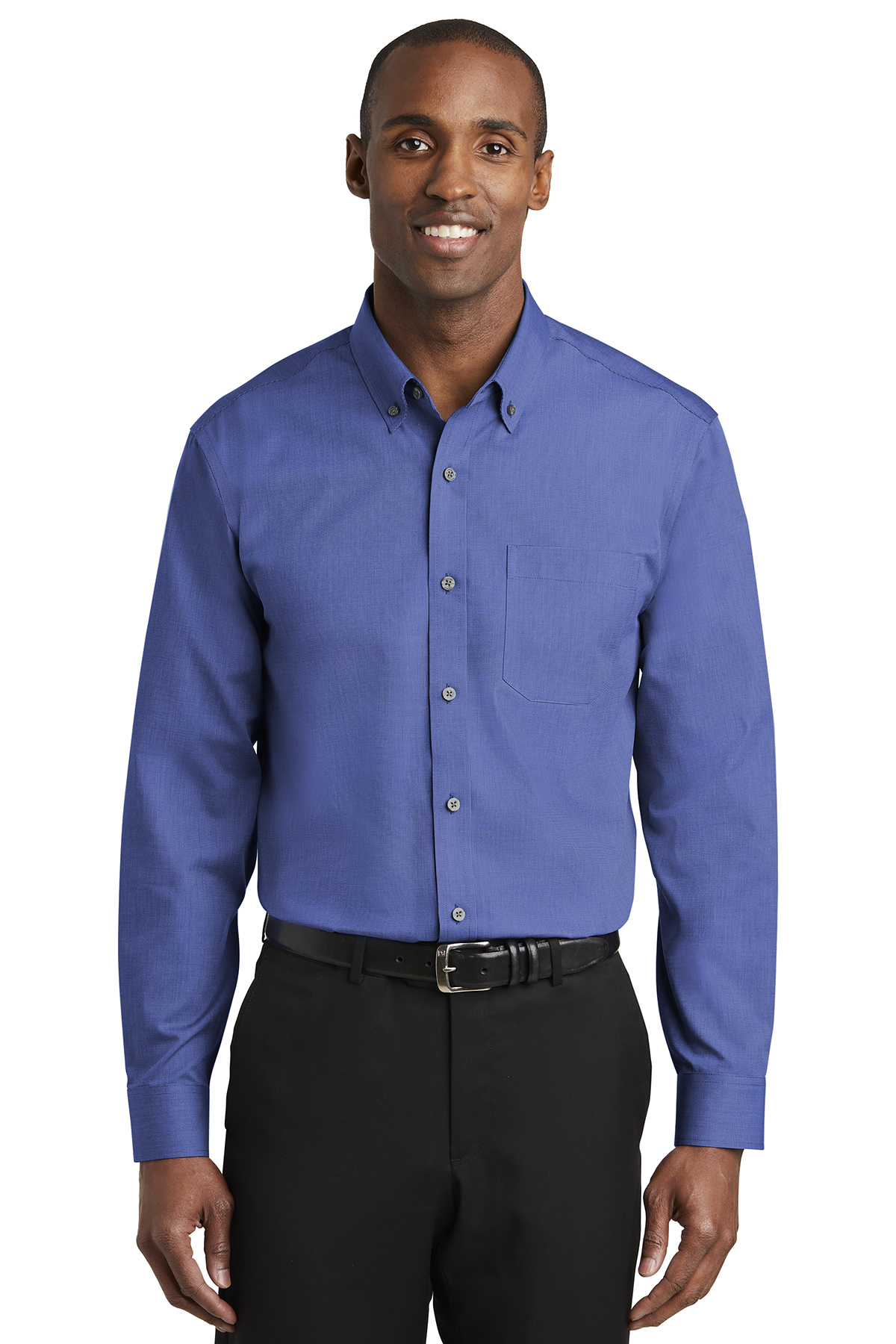 Red House TLRH370 - Men's Tall Nailhead Non-Iron Shirt