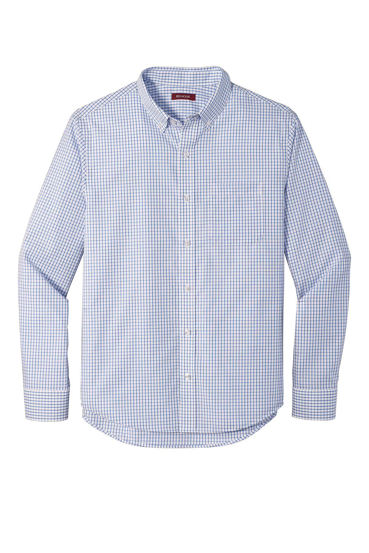 Red House ® RH85 - Open Ground Check Non-Iron Shirt