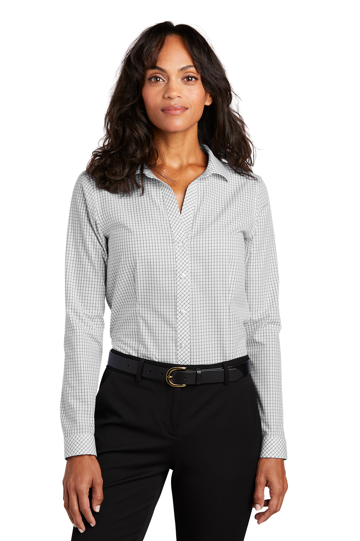 Red House ® RH86 - Ladies Open Ground Check Non-Iron Shirt