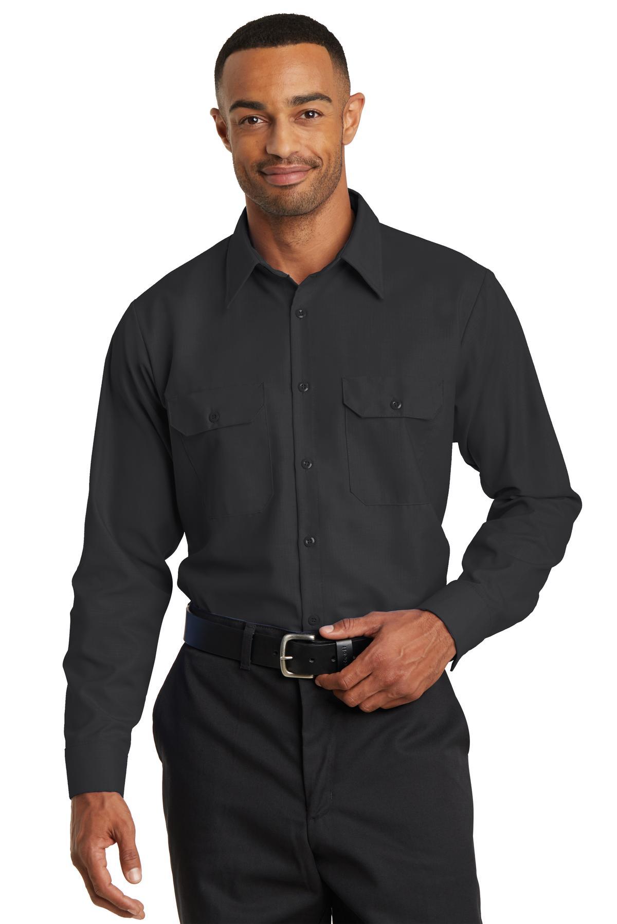 Red Kap  SY50 - Long Sleeve Solid Ripstop Shirt