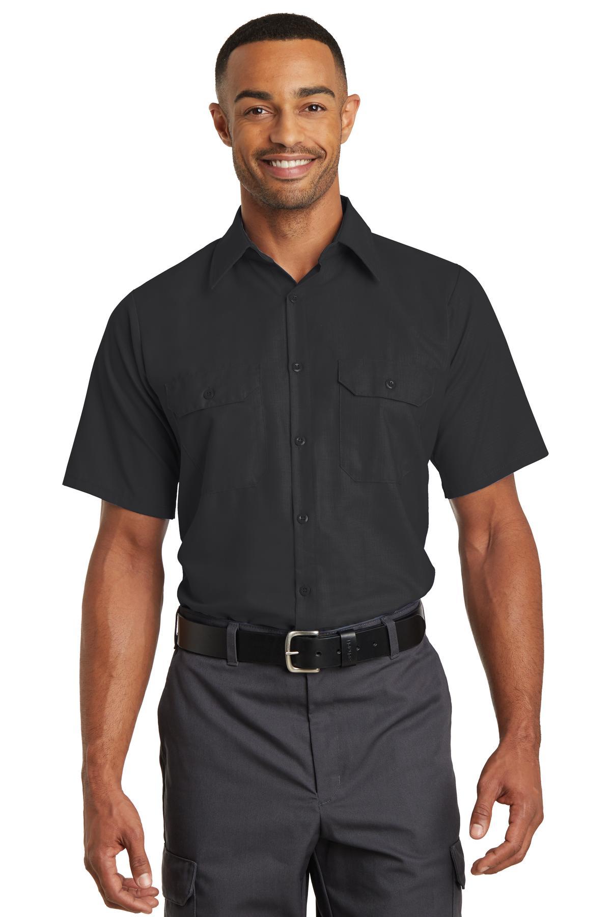 Red Kap  SY60 - Short Sleeve Solid Ripstop Shirt