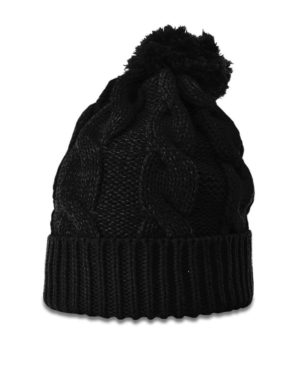 Richardson 141 - Chunk Twist Knit Beanie with Cuff