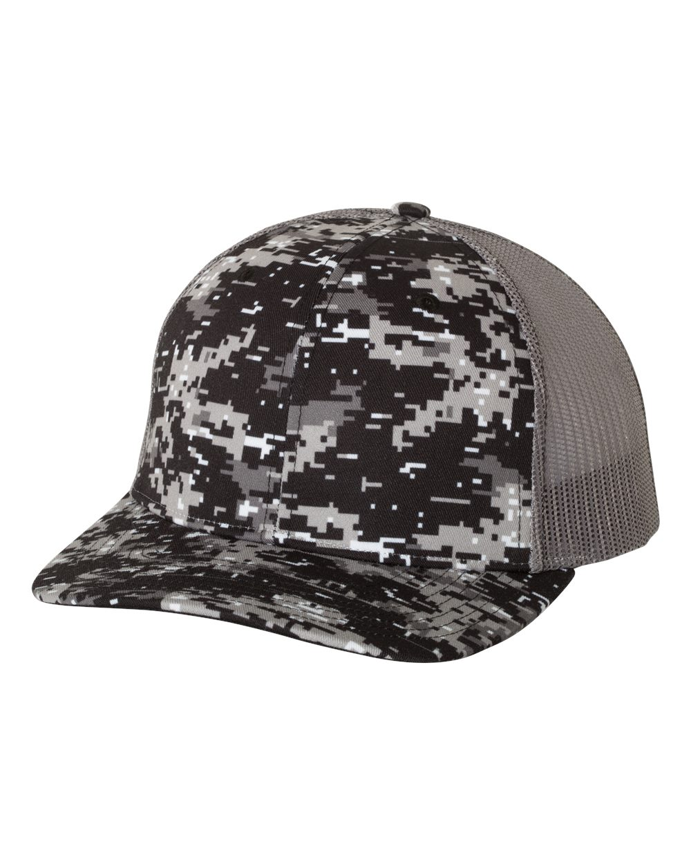 Richardson 112P - Patterned Snapback Trucker Cap