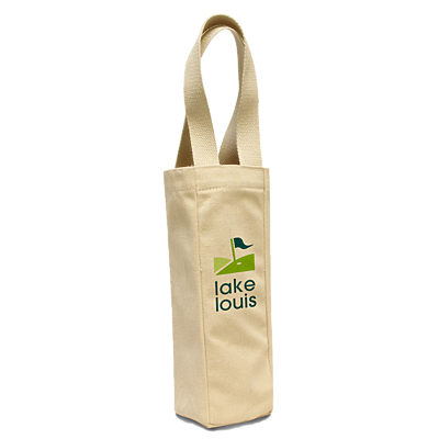 River's End 1725 Single Bottle Wine Tote