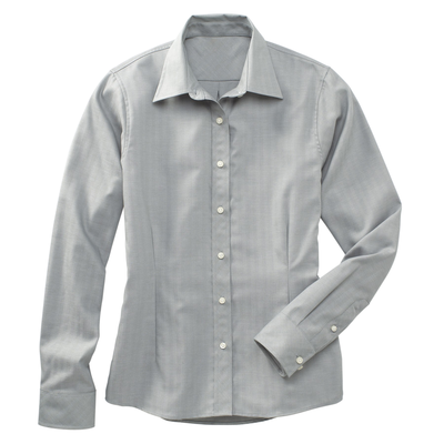 River's End 612 Ladies' Herringbone Long Sleeve Shirt