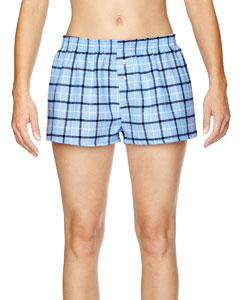 Robinson Apparel 5662 - Juniors' Flannel Short