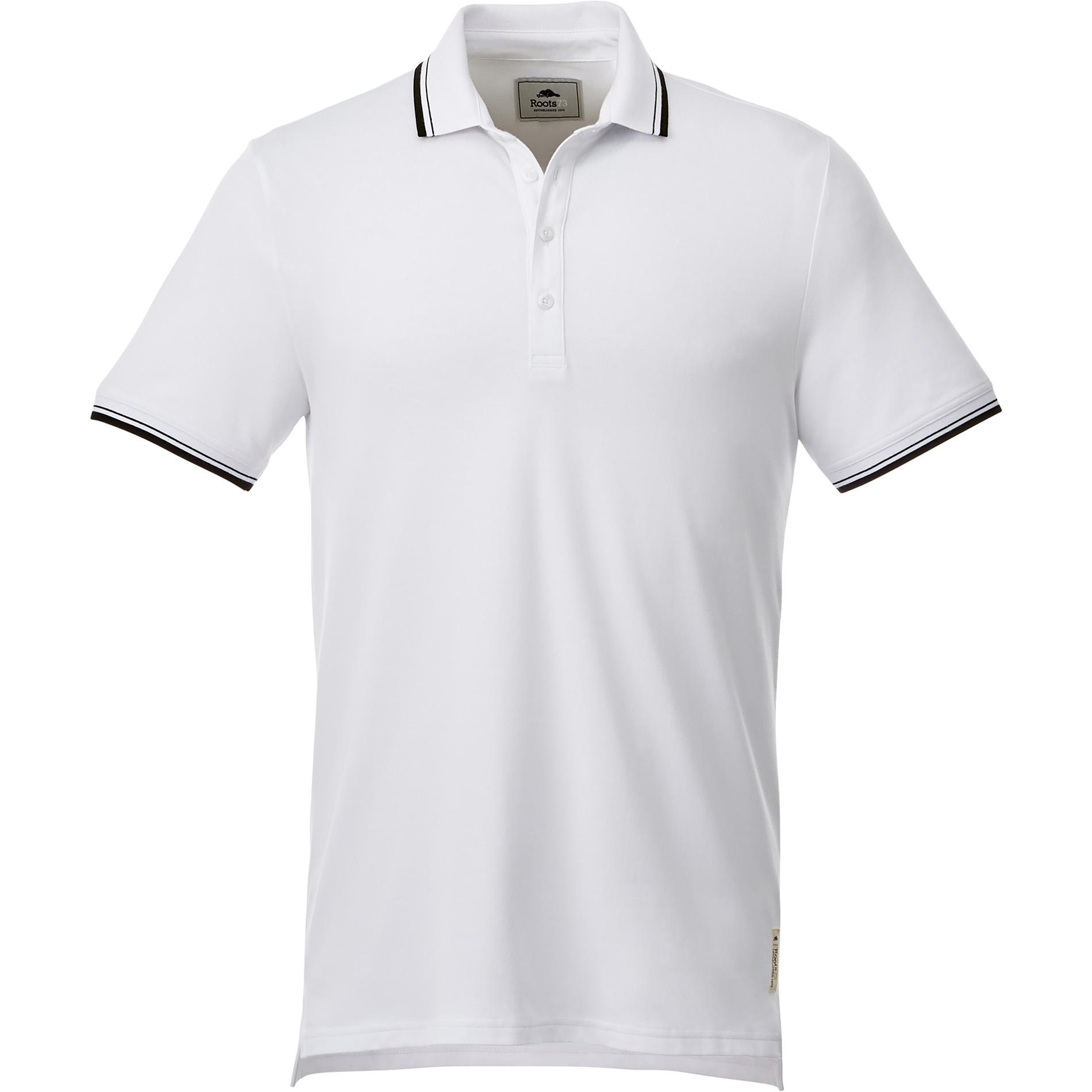 Roots73 TM16613 - M-LIMESTONE Roots73 SS Polo