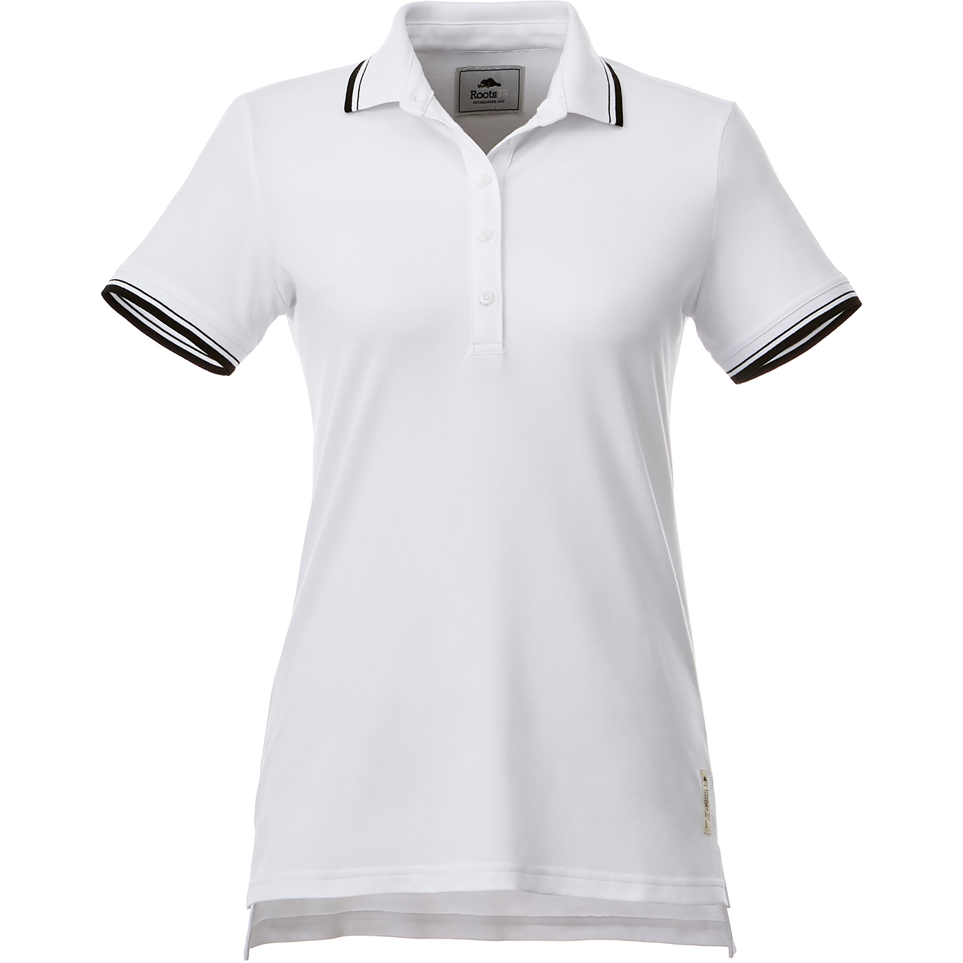 Roots73 TM96613 - W-LIMESTONE Roots73 SS Polo