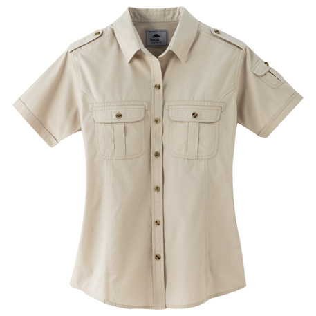 Roots73 TM97799 - Women's Grandbay Short Sleeve Shirt