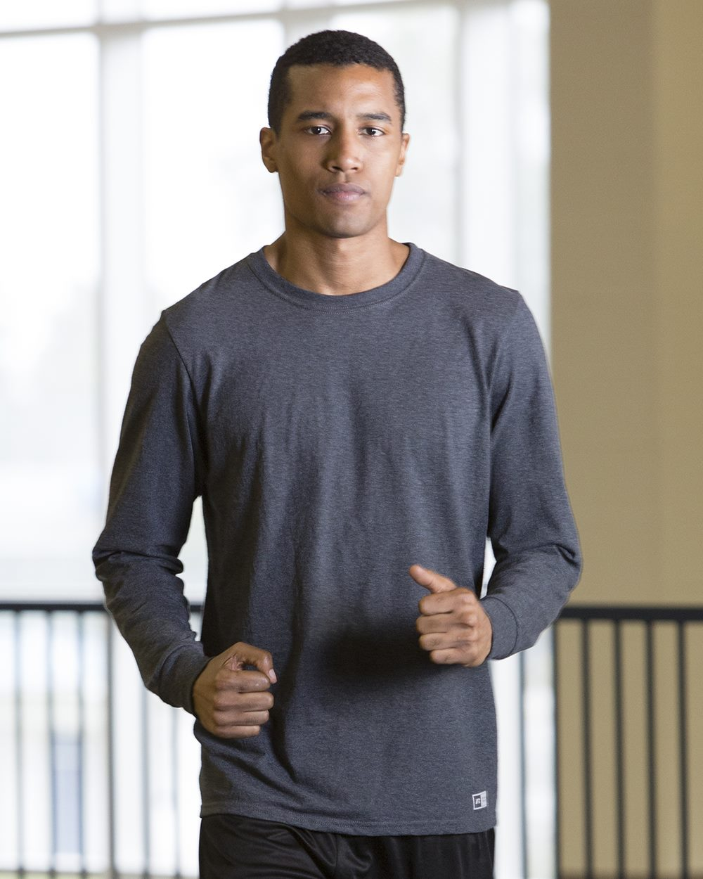 Russell Athletic 64LTTM - Essential Long Sleeve 60/40 Performance Tee