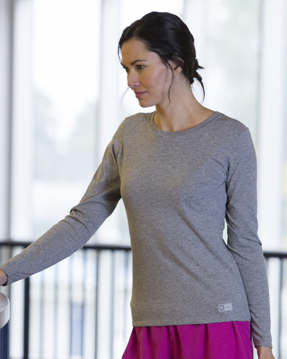 Russell Athletic 64LTTX - Women's Essential Long Sleeve ...