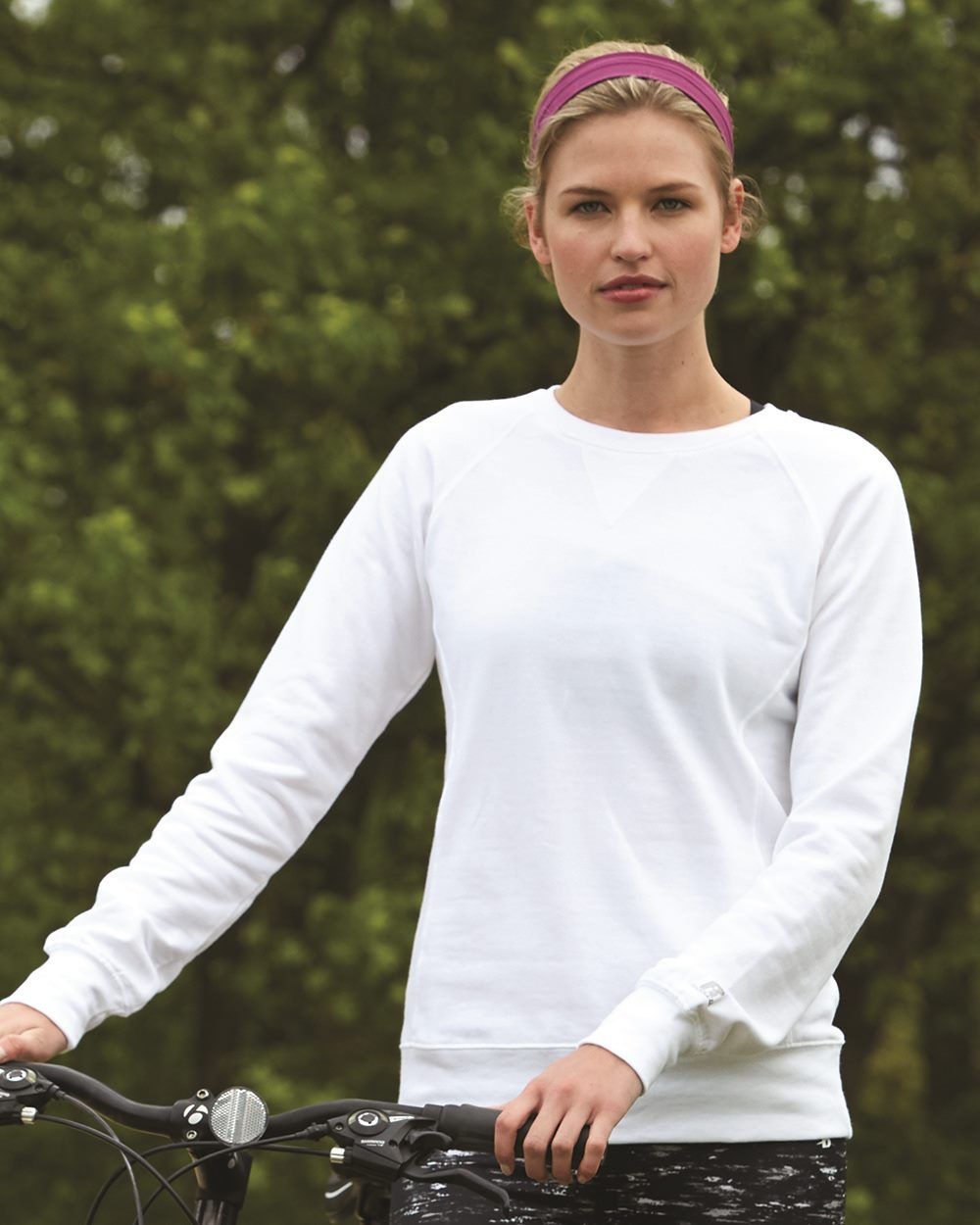 Russell Athletic LF3YHX - Women's Lightweight Crewneck ...