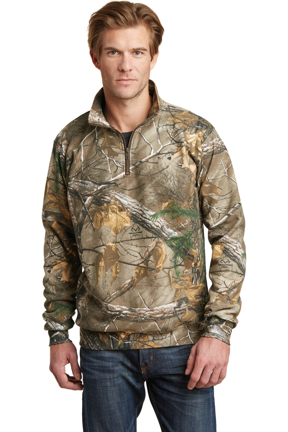 Russell Outdoors Realtree  RO78Q - 1/4-Zip Sweatshirt