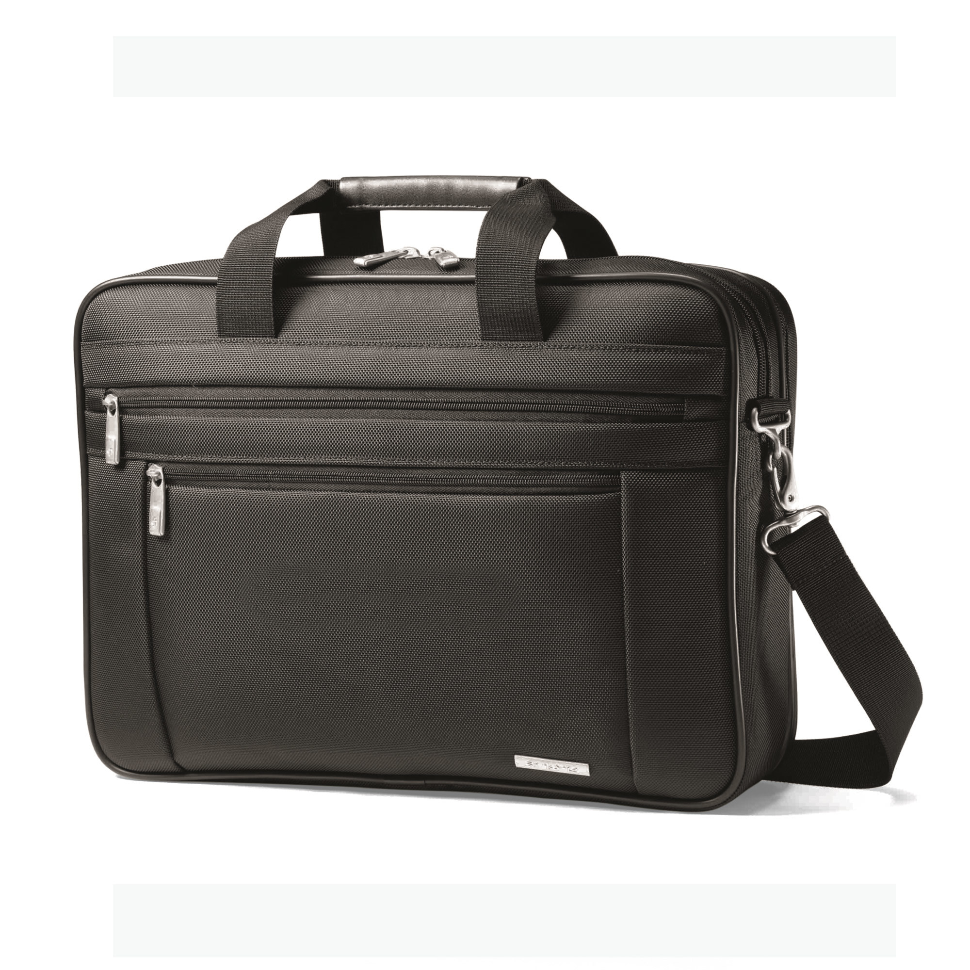 Samsonite 95012 - Classic Business Perfect Fit Two Gusset Computer Portfolio