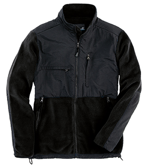 SIERRA PACIFIC 3071 - ADULT FULL-ZIP NYLON AND FLEECE JACKET