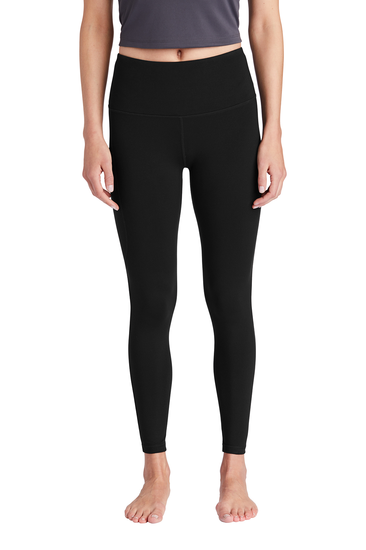 Sport-Tek LPST891 - Ladies High Rise 7/8 Legging
