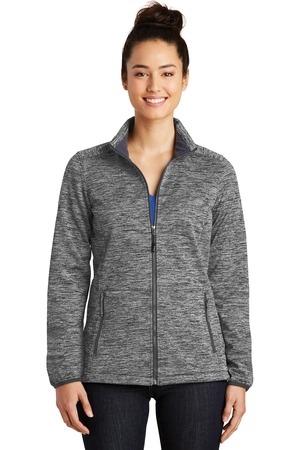 Sport-Tek LST30 - Ladies PosiCharge® Electric Heather Soft Shell Jacket