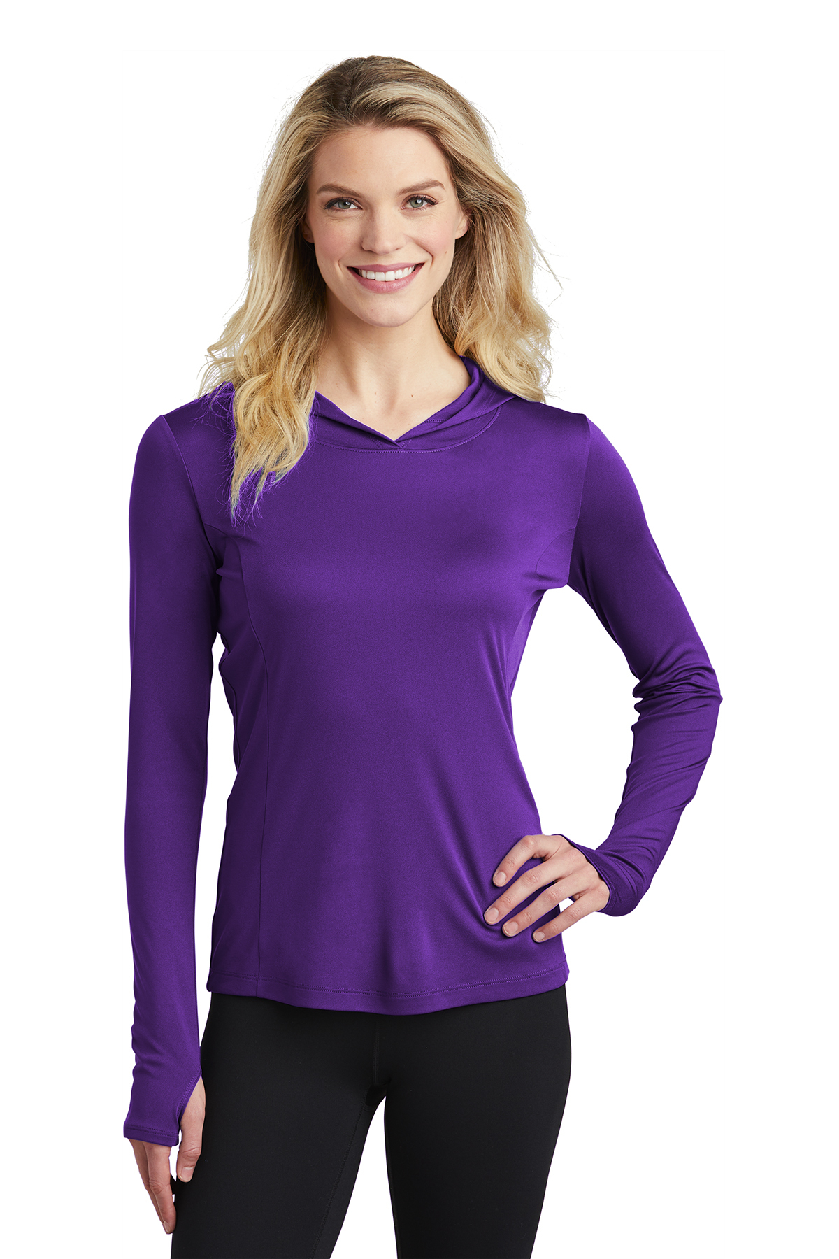 Sport-Tek LST358 - Ladies PosiCharge Competitor Hooded Pullover