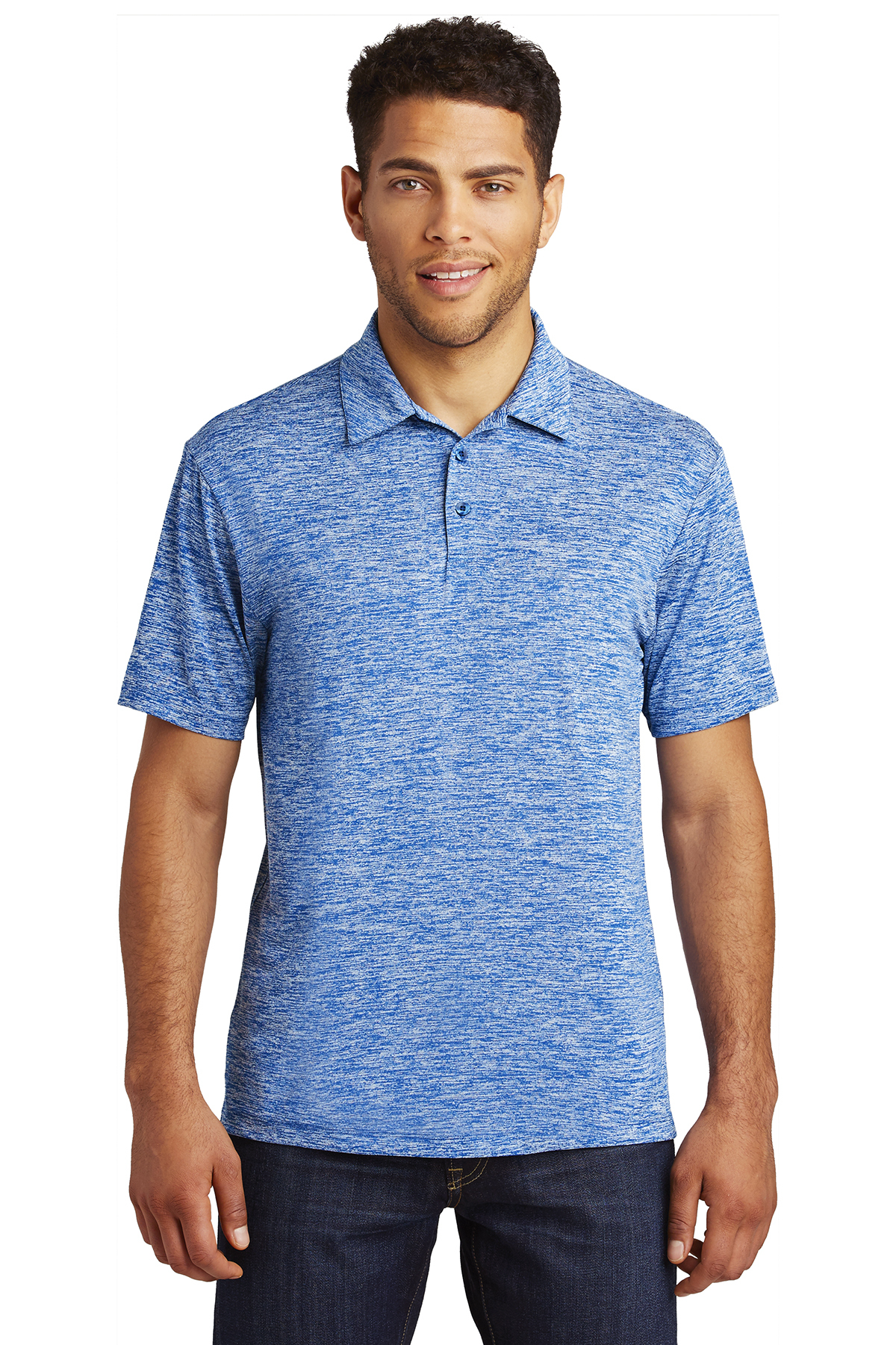 Sport-Tek ST590 - Men's PosiCharge Electric Heather Polo