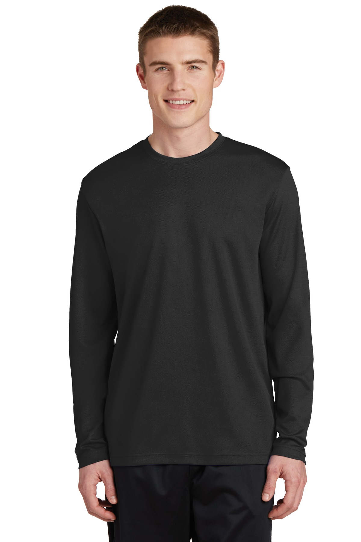 Sport-Tek  PosiCharge  ST340LS - RacerMesh Long Sleeve ...