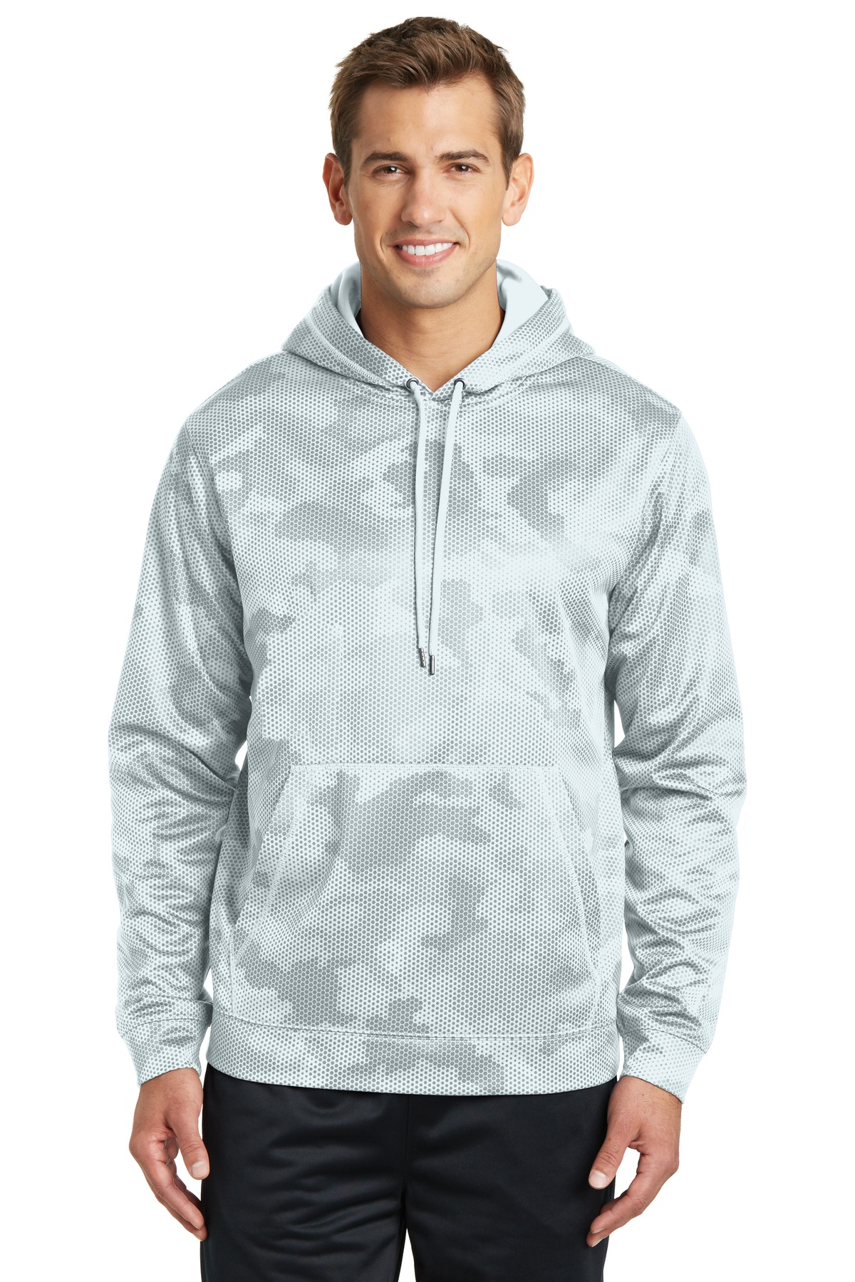 Sport-Tek  Sport-Wick  ST240 - CamoHex Fleece Hooded ...
