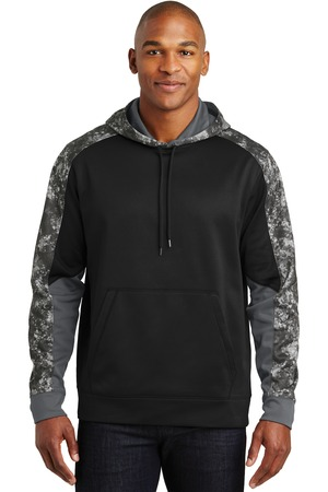 Sport-Tek ST231 - Sport-Wick Mineral Freeze Fleece Colorblock Hooded Pullover