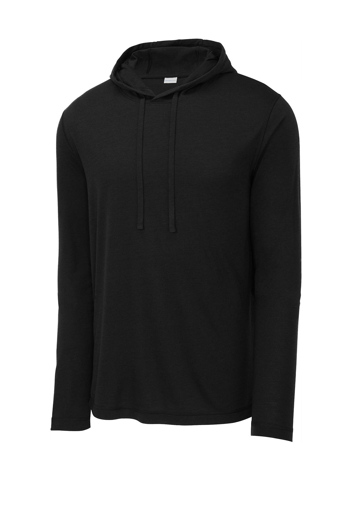 Sport-Tek ® ST406 - PosiCharge ® Tri-Blend Wicking Long Sleeve Hoodie