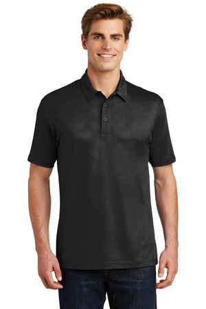 Sport-Tek ST630 - Embossed PosiCharge Tough Polo