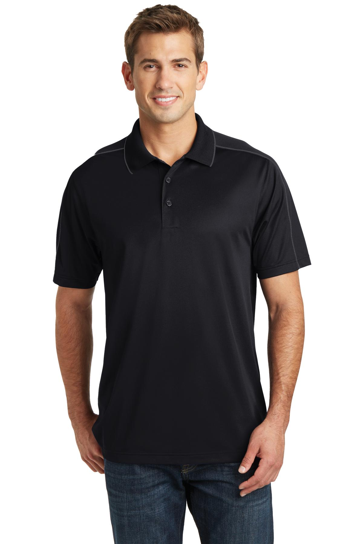 Sport-Tek® ST653 - Micropique Sport-Wick Piped Polo