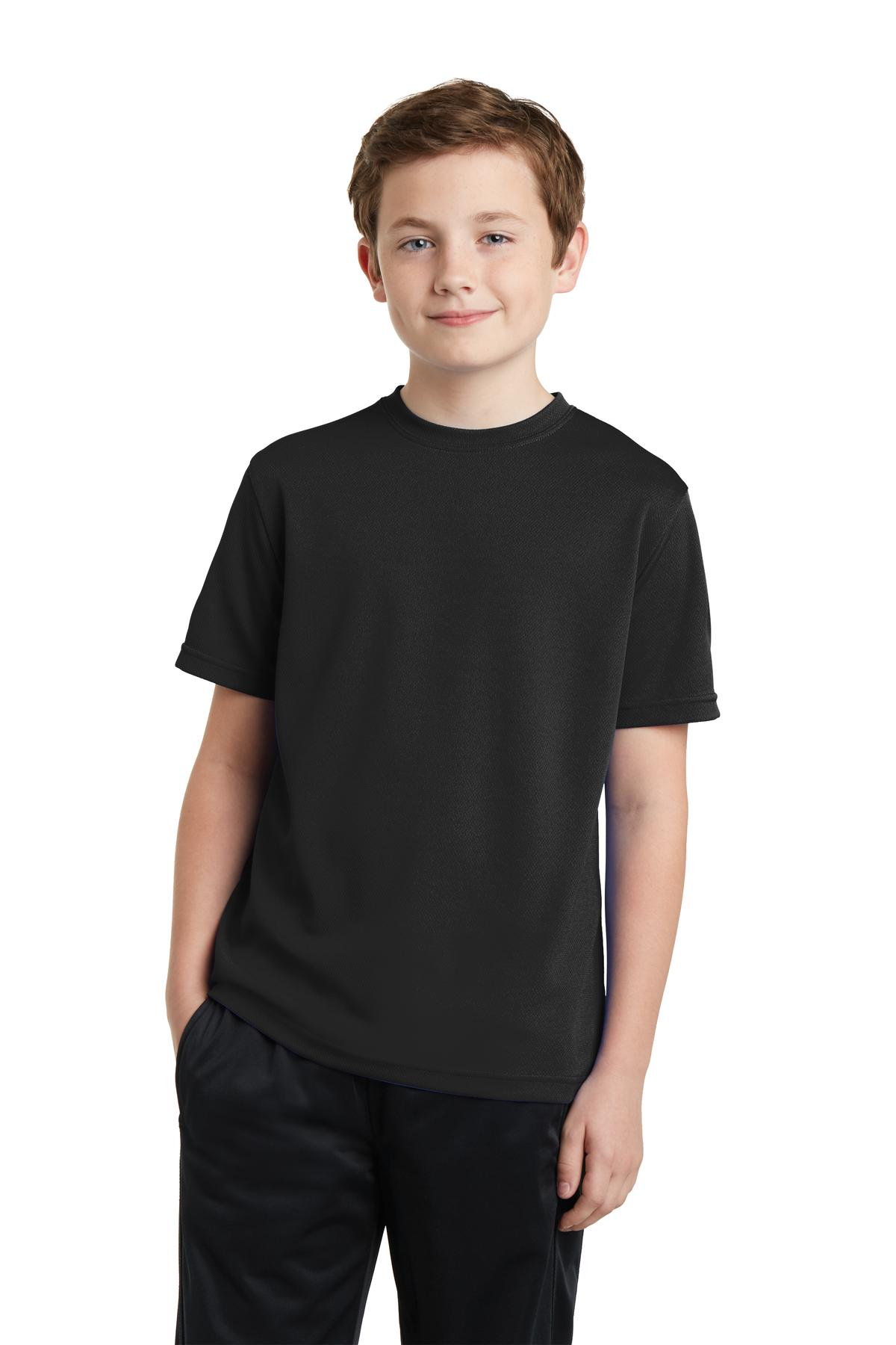 Sport-Tek® YST340 - Youth PosiCharge RacerMesh Tee