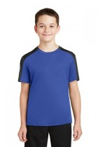 Sport-Tek® YST354 - Youth PosiCharge® Competitor® Sleeve-Blocked Tee