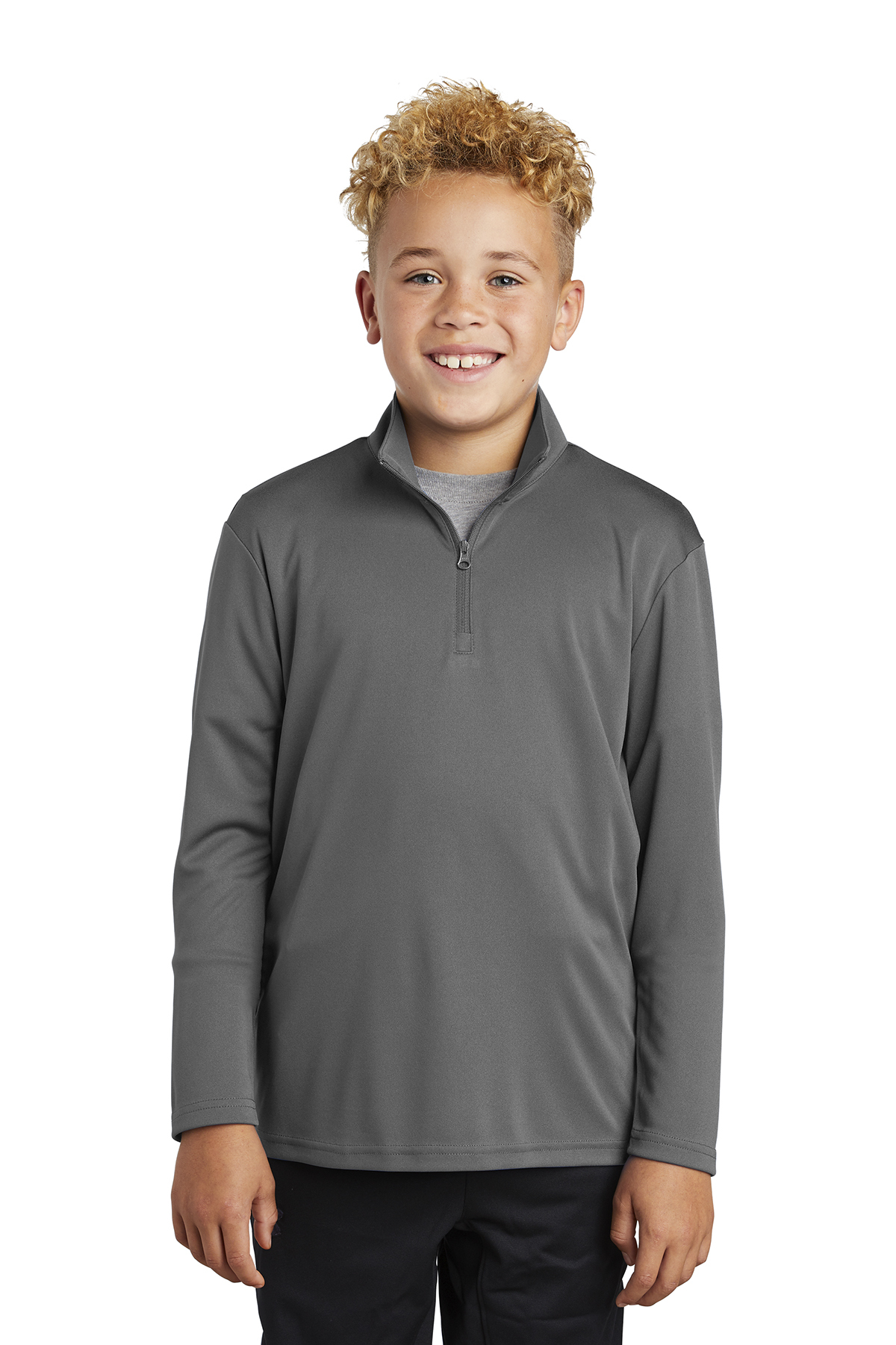 Sport-Tek YST357 - Youth PosiCharge Competitor 1/4-Zip Pullover