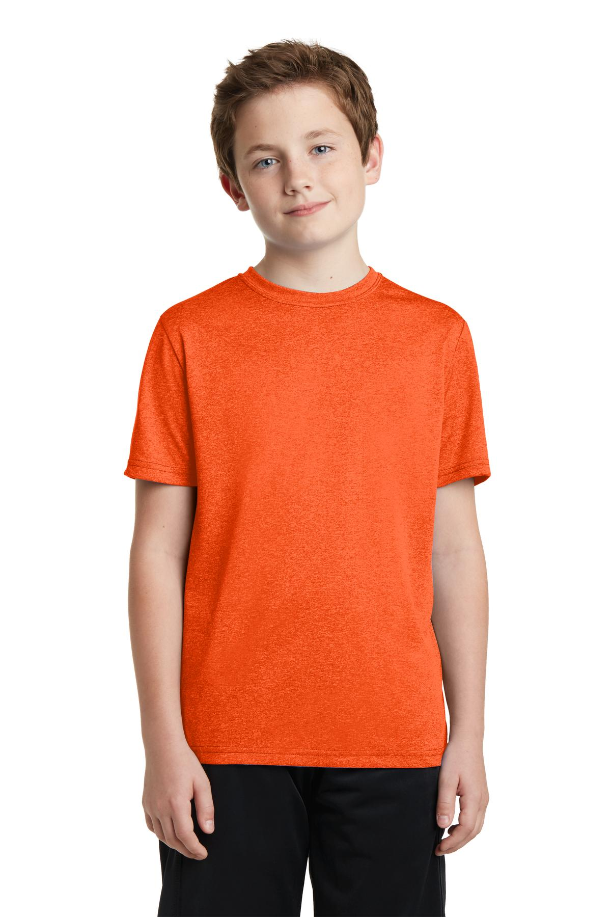 Sport-Tek® YST360 - Youth Heather Contender Tee
