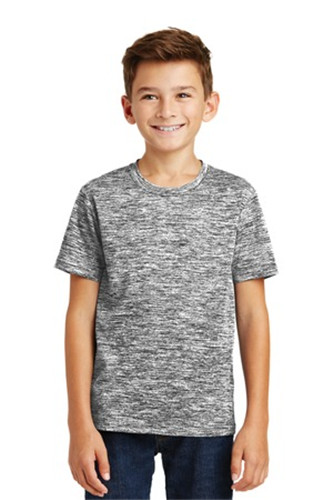 Sport-Tek YST390 - Youth PosiCharge Electric Heather ...
