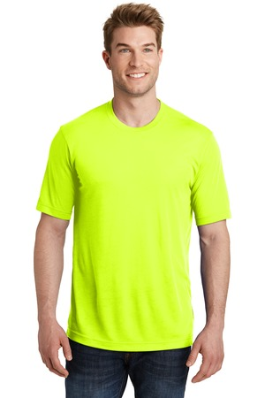 Sport-Tek YST450 - Youth PosiChargek® Competitor Cotton Touch Scoop Neck Tee
