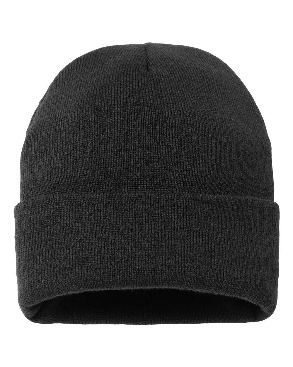 """Sportsman Caps SP12FL - Fleece Lined 12"""" Knit Beanie"""