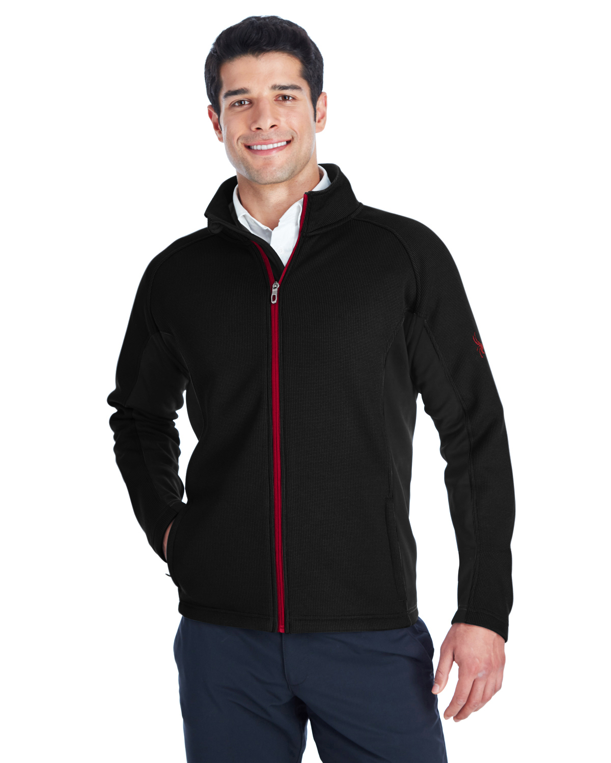 Spyder 187330 - Men's Constant Full-Zip Sweater Fleece