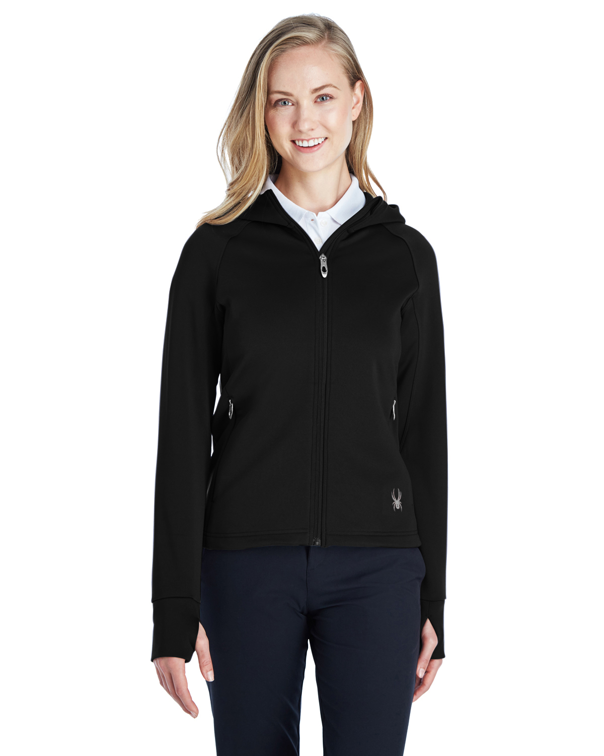 Spyder 187331 - Ladies' Hayer Full-Zip Z Hooded Fleece Jacket