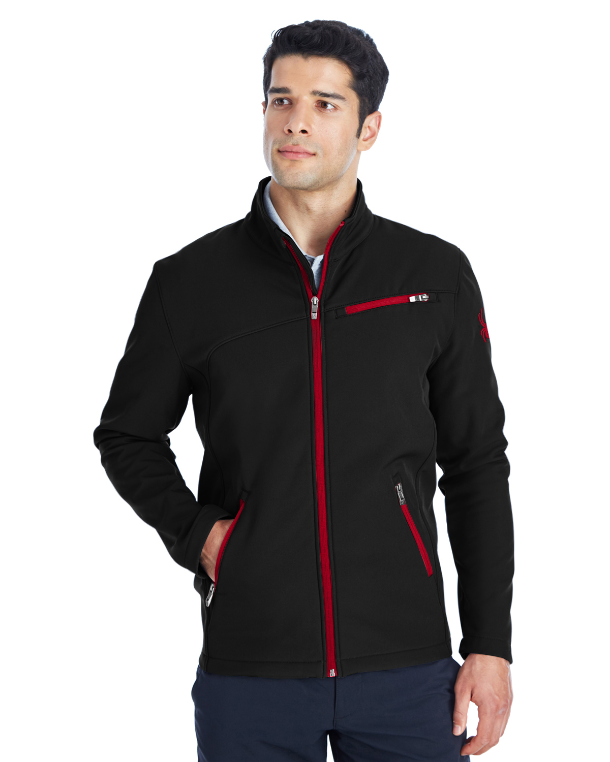 Spyder 187334 - Men's Transport Soft Shell Jacket