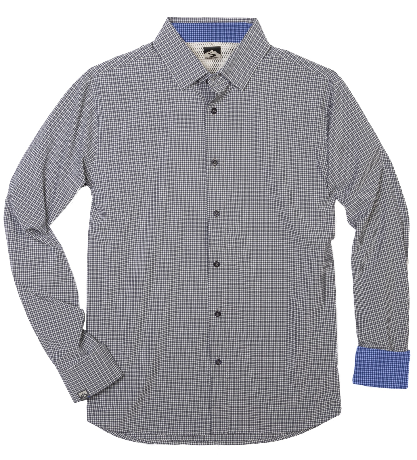 Storm Creek 2560 - Men's Tonal Check 4-Way Stretch Eco-...